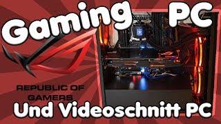 Mein neuer MONSTER GAMING PC / Videoschnitt PC   i7 6800k, Asus X99-AII, RX 480 etc.