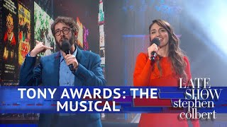 """Tony Awards The Musical"" Starring Sara Bareilles & Josh Groban"