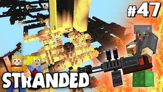 FLAMMENWERFER & GEHEIMES DUNGEON | Minecraft STRANDED #47 ✰ LPmitKev ✰ Stranded Forever Modpack