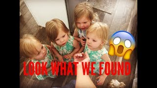 YOU WONT BELIEVE WHAT WE FOUND IN THE GRAPES WE BOUGHT!