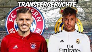 Icardi zu den Bayern ? | Neymar zu Real Madrid ? | Transfers und Transfergerüchte 2017/18