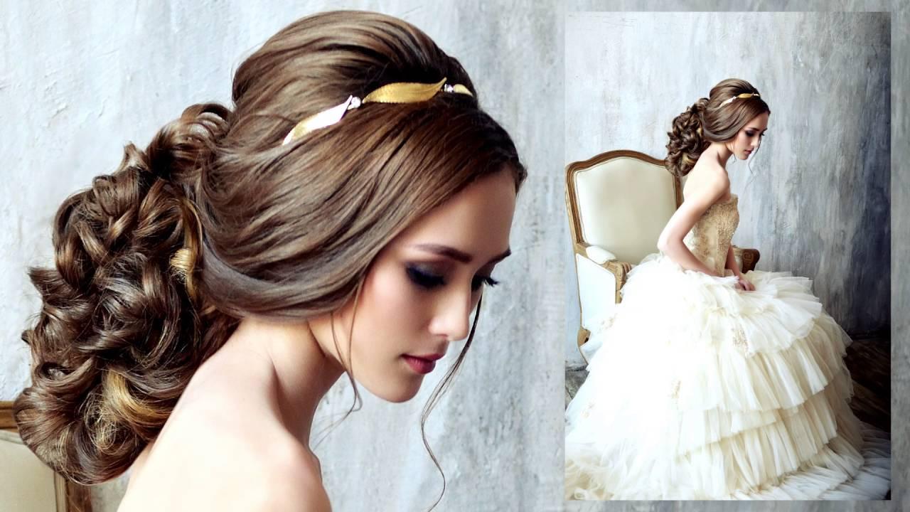 Причёски на свадьбу друга