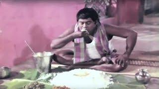 Senthil Recent Food Eating Comedy Scene | Telugu Comedy Scenes | Vendithera