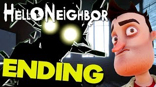 Hello Neighbor (FULL GAME) - ALL ACT ENDINGS / BASEMENTS / FINAL BOSS / FINALE