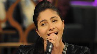 ياسمينا العلواني في برنامج معكم مني الشاذلي علي قناة cbc