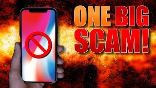iPhone 8 and iPhone X  - THE BIGGEST SCAM IN APPLE HISTORY!