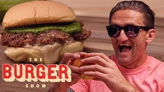 Casey Neistat Taste-Tests Limited-Edition Burgers from Shake Shack   The Burger Show