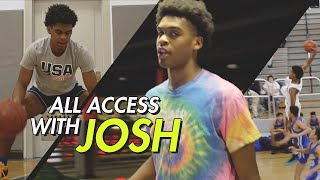 """I Bring Drip ON & OFF The Court."" Josh Christopher Shows Us How He"