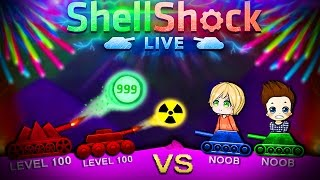 LEVEL 100 PROS vs NOOBS!? | Shellshock Live - Witzige Momente (Funny Moments German)