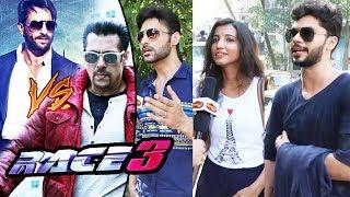 RACE 3 - Salman Khan Vs Saif Ali Khan - PUBLIC Reaction On Who Is BEST