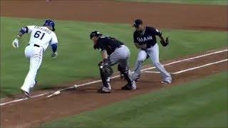 MLB Foul Balls Spinning Fair