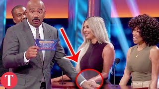 Small Details You Missed From The Kardashian Vs. West Celebrity Family Feud Episode