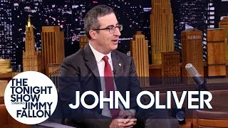 John Oliver Worked the Phones at a Place that Sold Stolen Goods
