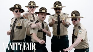 The Cast of Super Troopers Roast Each Other | Vanity Fair