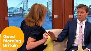 Kate Garraway Flashes Ben and Susanna!   Good Morning Britain