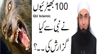Most Painful What 100 Wolves Request to Nabi S.A.W..? Maulana Tariq Jameel Bayyan 2016