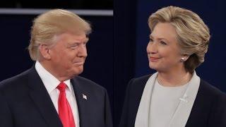 Debate parodies read lips and sing duets