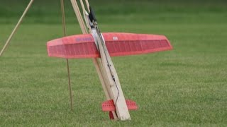 ROCKET POWERED  GLIDERS AT WESTON PARK RC MODEL AIRCRAFT SHOW - 2014