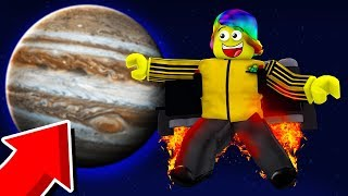 FLYING TO MAX HEIGHT WITH SUPER OP JETPACK! (Roblox Jetpack Simulator)