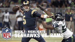 Seahawks vs. Rams | Week 1 Highlights | NFL