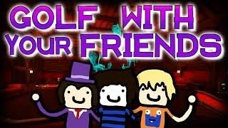 Die Grusel-Golf-Villa! | GOLF WITH YOUR FRIENDS