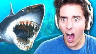 SHARK ATTACK SURVIVAL!! | Raft - Part 1