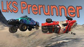THE BEST OFFROAD TRUCK? LKS Prerunner - BeamNG.drive