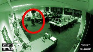 NEWS: Manchester Poltergeist Caught on CCTV - 1/11/2012