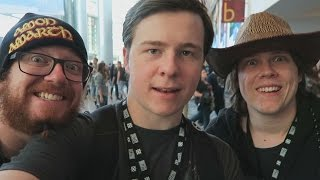 Zylbrad, Tyrodin & Muselk at Blizzcon! +Million Subscriber Plaque