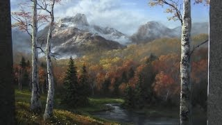 Paint with Kevin Hill - Autumn Birch Trees