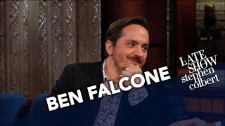 Ben Falcone Gets To Make Out With Sean Spicer