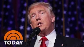 Donald Trump's First 100 Days: Obamacare, Supreme Court, Border Wall, Muslim Ban   TODAY
