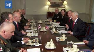 Mattis praises Georgia for military spending