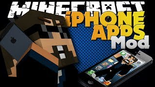 Minecraft Mod - iPhone App Mod - Many Apps of Awesome