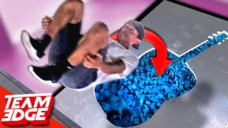 Stunt Jumps Through Impossible Shapes!!