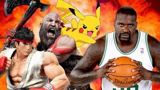 Shaq Wants To Kill Kratos and Pikachu - Up At Noon Live!