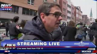MASS CHAOS: DC Protesters Take To The Streets After Donald Trump Inauguration (FNN)