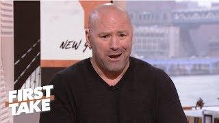 Dana White calls out Oscar De La Hoya for lying in ESPN interview   First Take