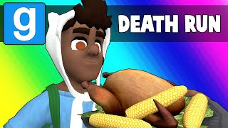 Gmod Death Run Funny Moments - Ceaseless Thanksgiving Puns! (Garry