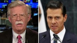Bolton: Pena Nieto made a mistake canceling Trump meeting