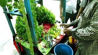 Raw Mango Pudina Drink - Indian Street Food Kolkata - Bengali Street Food India-My country Food