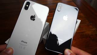 Apple iPhone X Farben | Silver & Space Grey & So wäre es in Gold