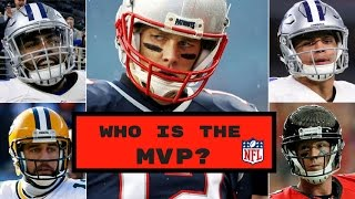 Who Should Win The 2016 NFL MVP? | NFL MVP Race Predictions