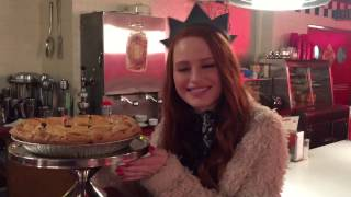Riverdale set visit with Madelaine Petsch