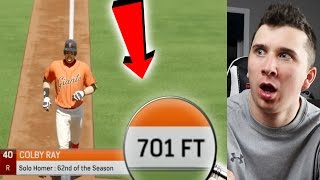 701 FOOT HOME RUN! The Longest Home Run In MLB The Show History!
