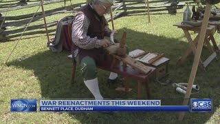 Bennett Place has several war re-enactments as Memorial Day nears