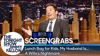 Screengrabs: Lunch Bag for Kids, My Husband Is...A Wife