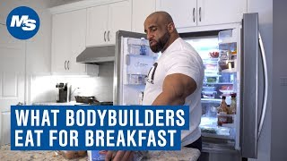 """What Bodybuilders Eat For Breakfast   How Fouad """"Hoss"""" Abiad Starts His Day"""