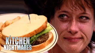 Customer Starts to CRY After Being Served Shambolic Burger! | Kitchen Nightmares