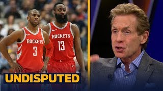 Skip Bayless on Houston defeating Portland, not buying Rockets as title contenders   UNDISPUTED